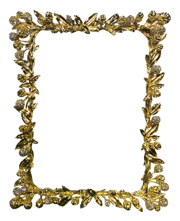 free illustration  frame  gold  antique