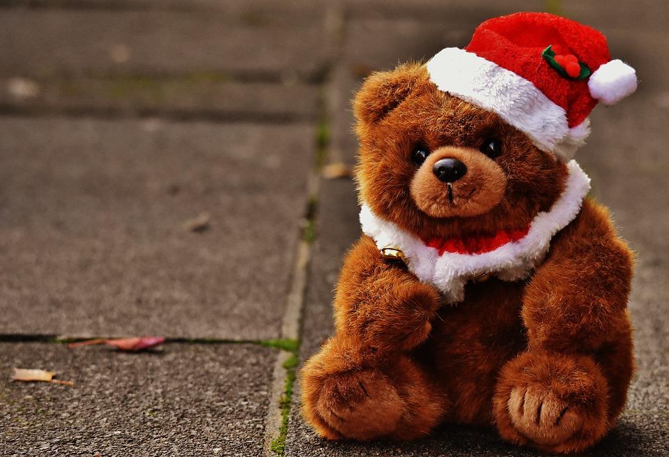 Teddy Weihnachten.Weihnachten Grußkarte Teddy Kostenloses Foto Auf Pixabay