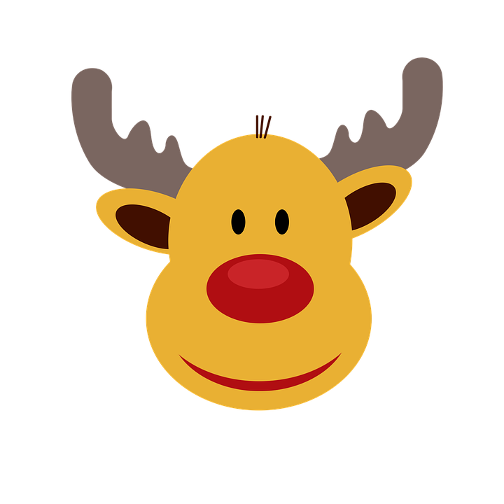 illustration gratuite renne  no u00ebl  festivals  joyeux no u00ebl image gratuite sur pixabay 1833920 Deer Clip Art Black and White Deer Head Silhouette with Antlers