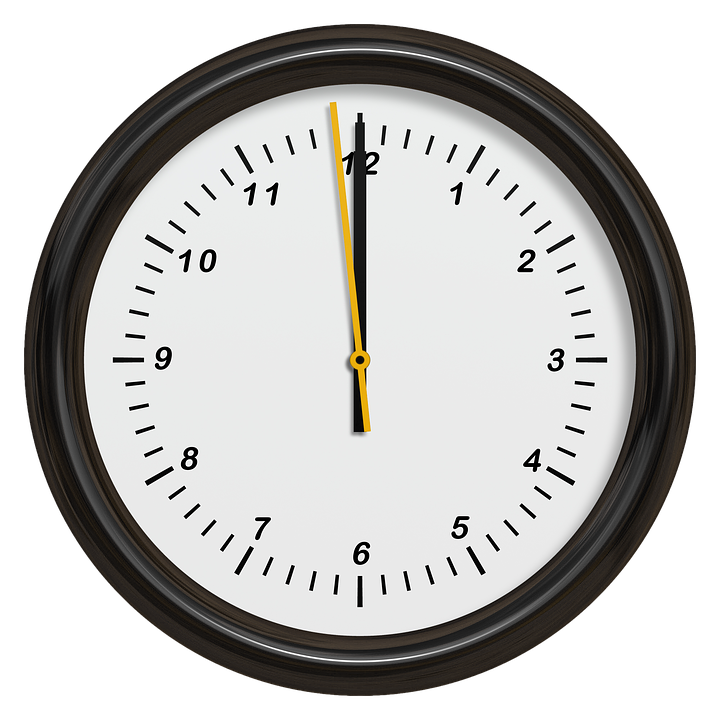 Clock Time Of New Year\'S · Free image on Pixabay