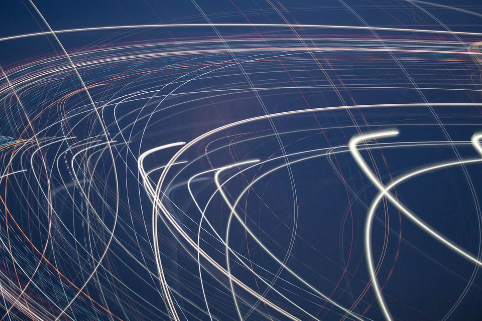 Light, Movement, Abstract, Lines, Light Painting, Art