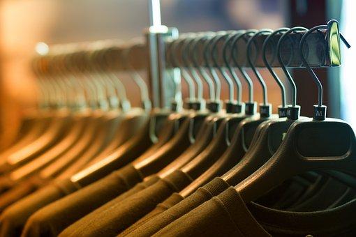 Clothes, Hangers, Rack