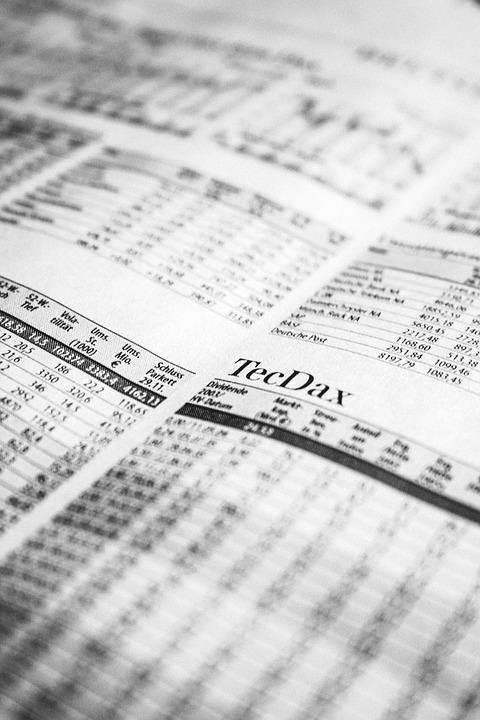 Newspaper, Stock Exchange, Stock Market, Stock Prices