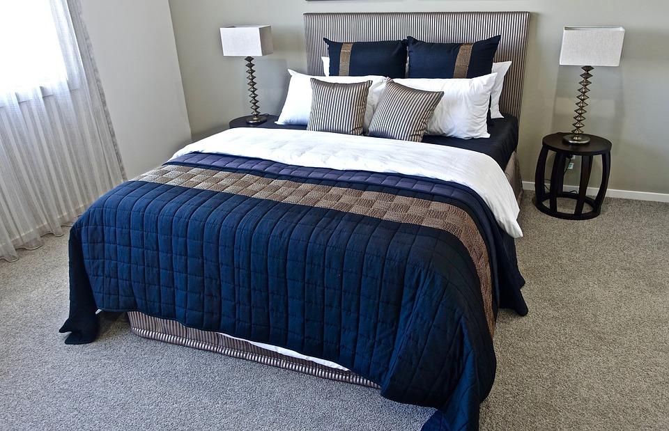 무료 사진: 침대, 침실, 베개, 디자인, 현대, 위로, 라이프 스타일 ...