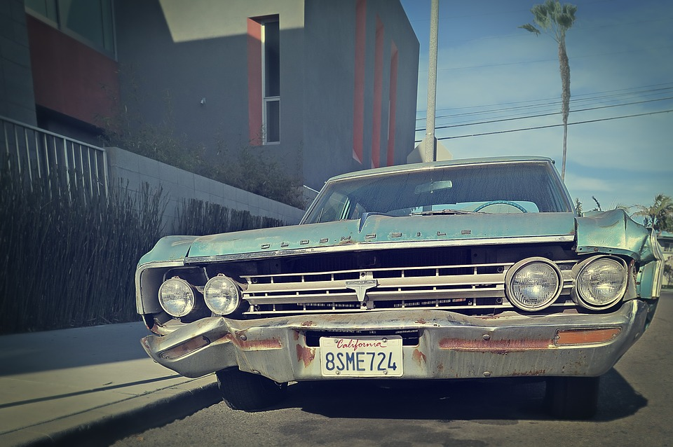 Bleached California Junk Car · Free photo on Pixabay