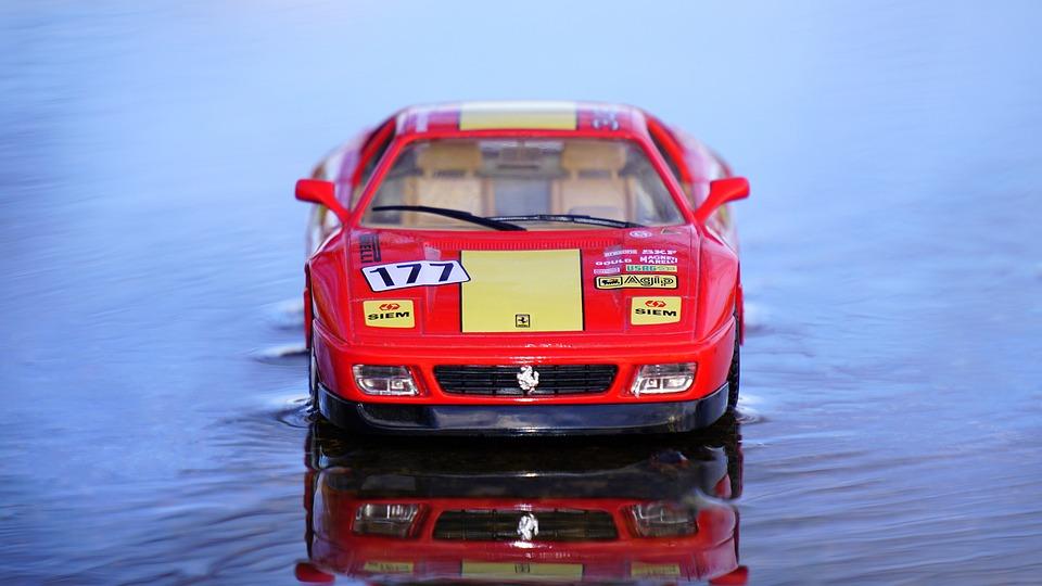 Ferrari Miniature Model Car Free Photo On Pixabay