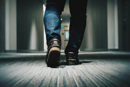 Denim, Feet, Footwear, Legs, Man, Shoes