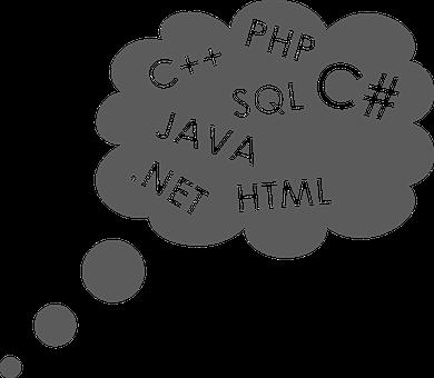 クラウド, プログラマ, プログラミング言語, プログラミング, コンピューター