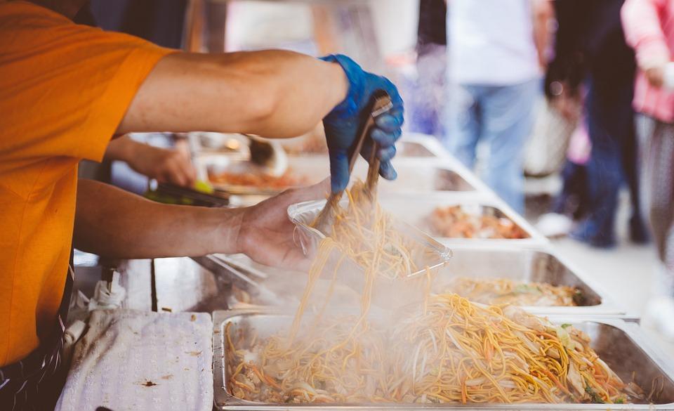 Cooking, Crowd, Food, Hot, Man, Market