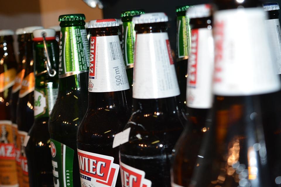 Alcoholic Beverages, Beer, Bottles, Liquor