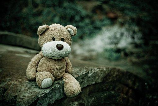 テディベア, おもちゃ, ぬいぐるみ, 動物のぬいぐるみ, 子供のおもちゃ