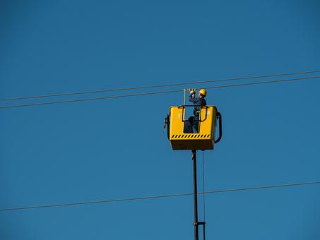 Electricistas, Cables, Alta Tensión