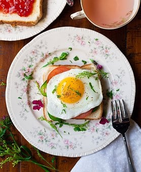 Breads, Breakfast, Delicious, Egg, Food