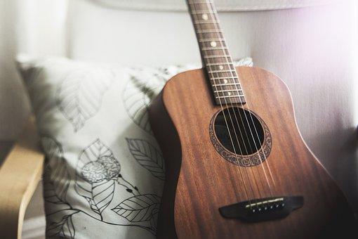 ギター, 音楽, アコースティック ギター, 楽器, 弦楽器, 木材, サウンド