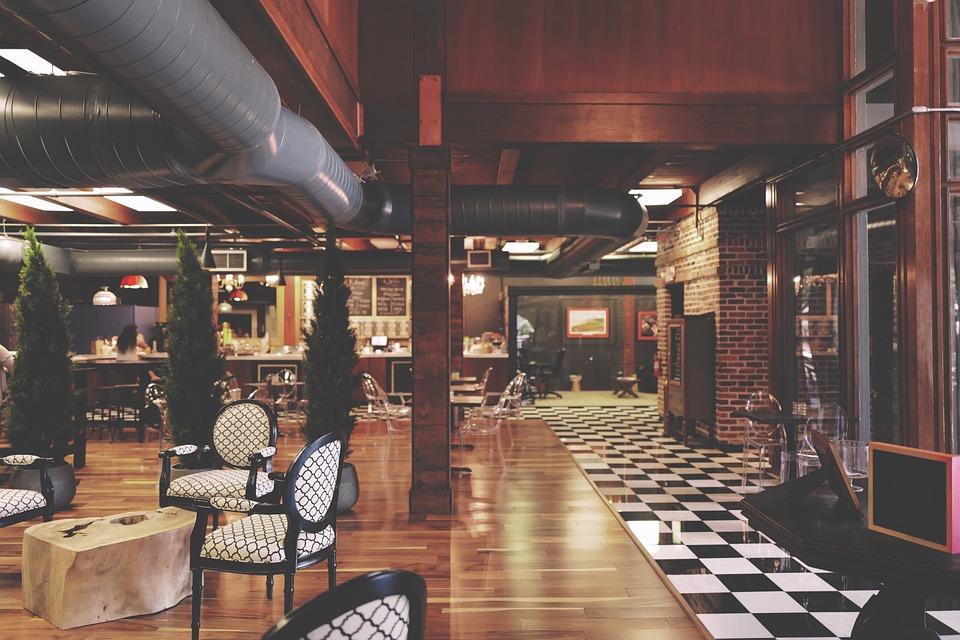 Ресторант, Мебели, Интериори, Интериорен Дизайн