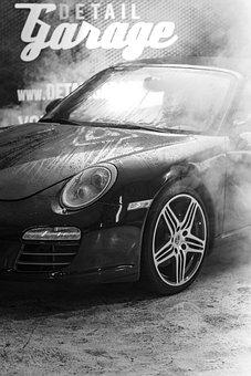 Mytí aut kouření