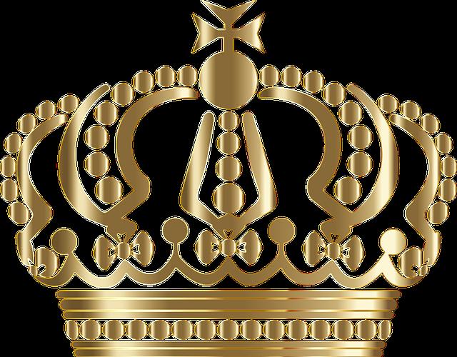 Fuente Kings And Queens: Aleman Corona Real · Gráficos Vectoriales Gratis En Pixabay