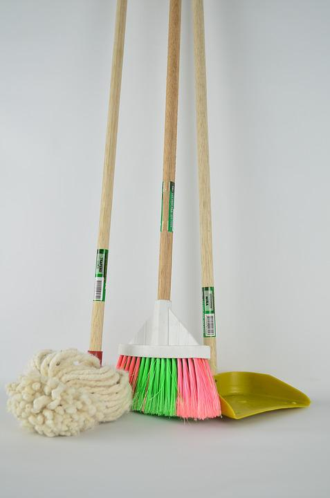 Broom, Ragpicker, Mop, Picker, Toilet, Cleaning