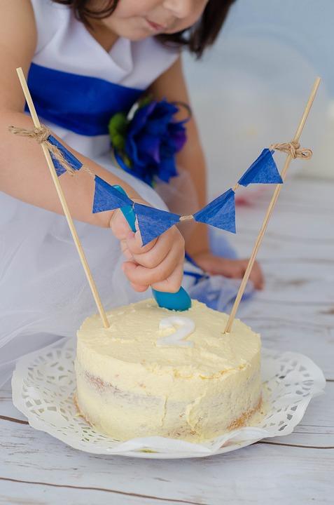 Kuchen Geburtstag Madchen Kostenloses Foto Auf Pixabay