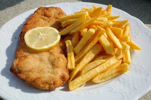 Schnipo, Schnitzel With Fries, Schnitzel