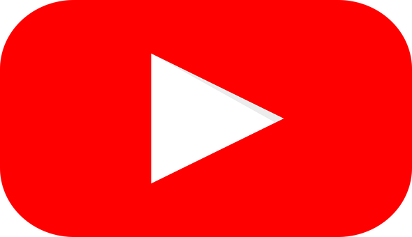 Youtube, Logo, Graphic, Red, Youtube