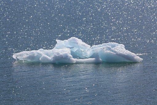浮冰, 海, 北极, 冰山一角