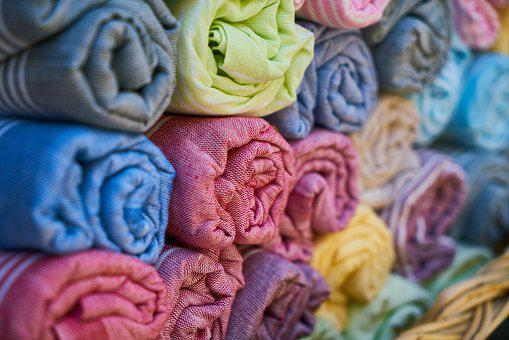 Towel, Textile, Fabric, Cotton, Color