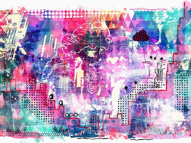 free illustration sketch travel art collage free