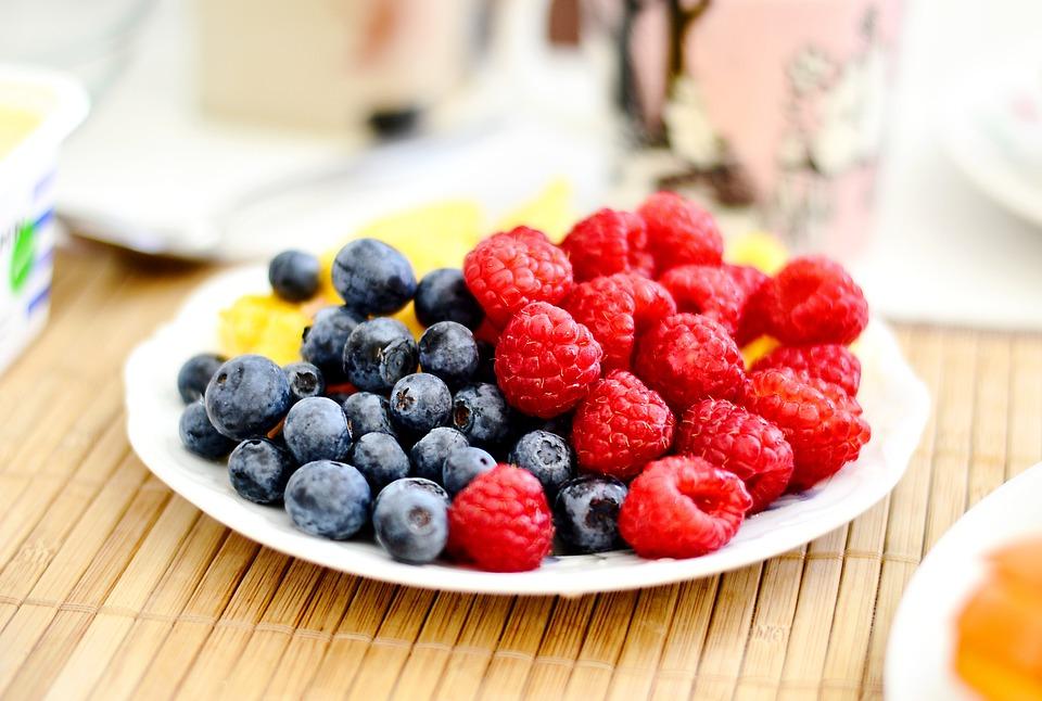 Frutti Di Bosco, Bacca, Blackberry, Mirtillo, Close Up