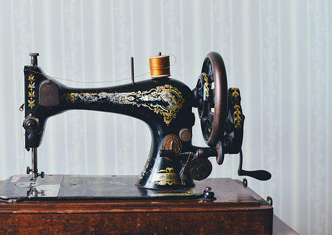 Antique, Sewing Machine, Home, Old