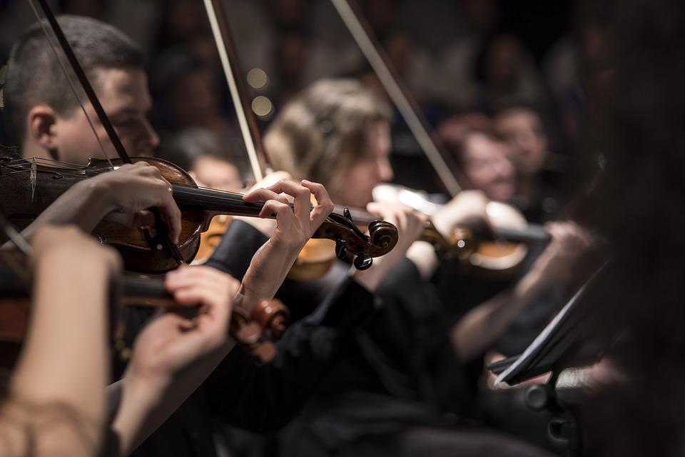 Musique Classique, Concert, Macro, Musique