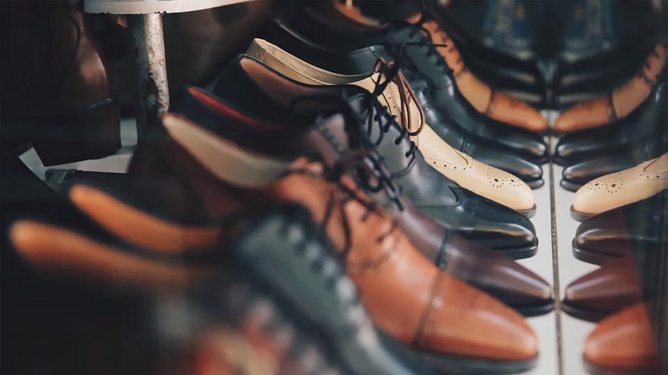 Calzature, Pelle, Oxford, Scarpe, Maschio, Elegante
