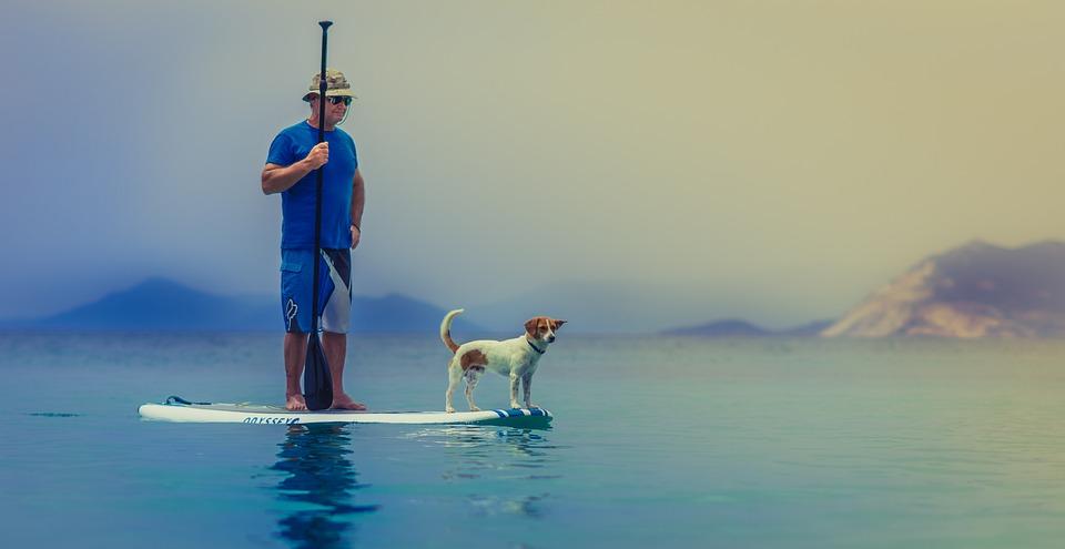 Sup, Alzarsi Per Bambini, Ocean, Paddle, Persona