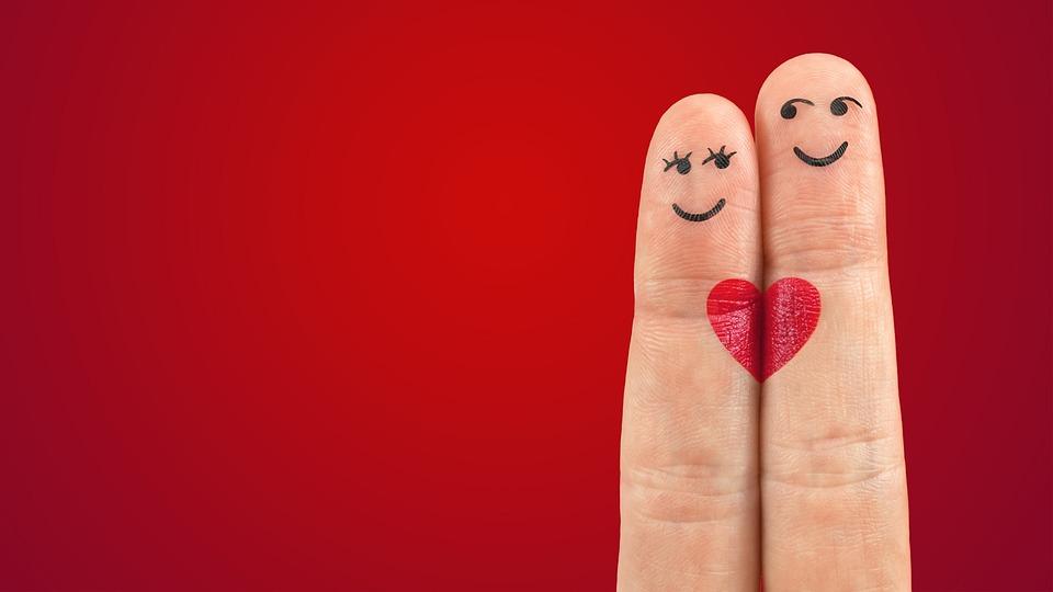 Art, Fingers, Heart, Love, Pair