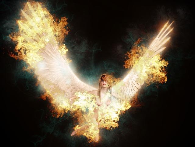 Free Illustration Fallen Angel Heaven Hell Angel