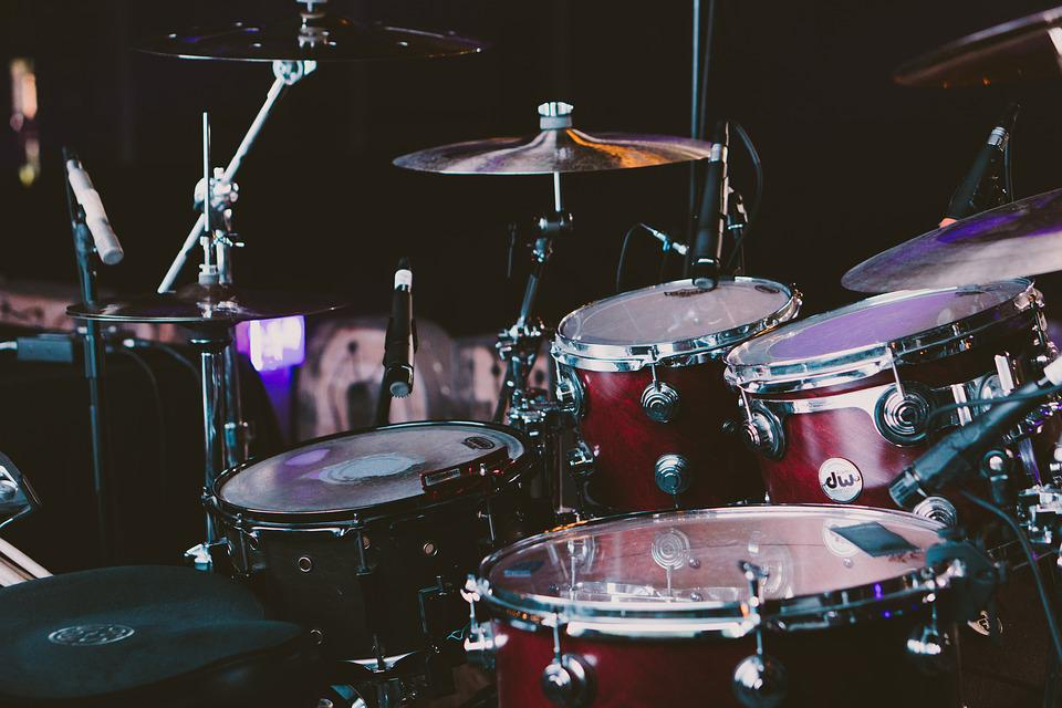 drum set drums musical instruments free photo on pixabay