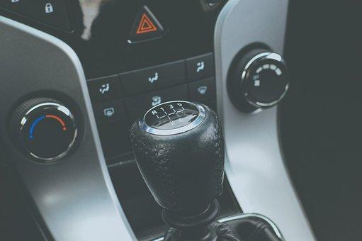 自動車, 車, ギアシフト, マニュアルトランスミッション, スティックシフト