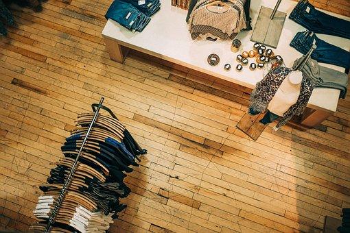 服, 衣料品, ファッション, ストア