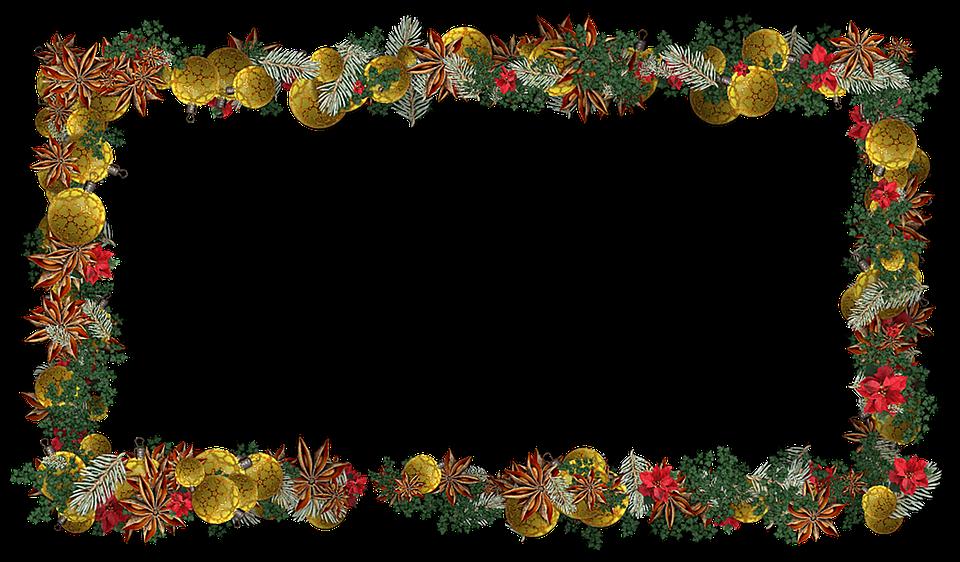Encadrement Decoration Noel Image Gratuite Sur Pixabay