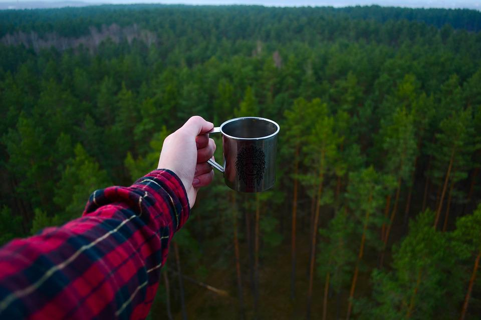 Adventure, Camping, Forest, Hiker, Macro, Mug, Nature