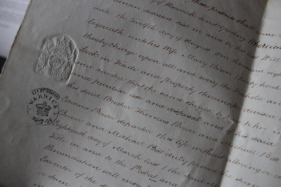 手紙, ドキュメント, 手書き, 紙, ビジネス, 金融, 契約, 署名, オフィス, テキスト, 新約聖書
