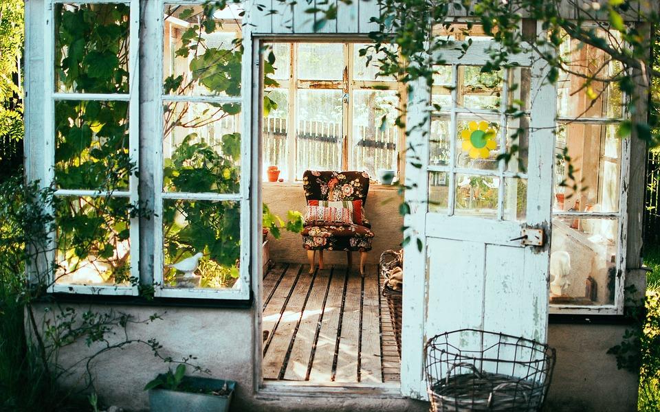 Stol, Sommerhus, Landstil, Interiør Design, Rustik