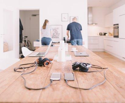 Gadgets, Headphones, Laptop