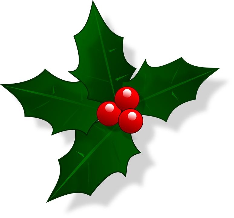 mail christmas holly free vector graphic on pixabay