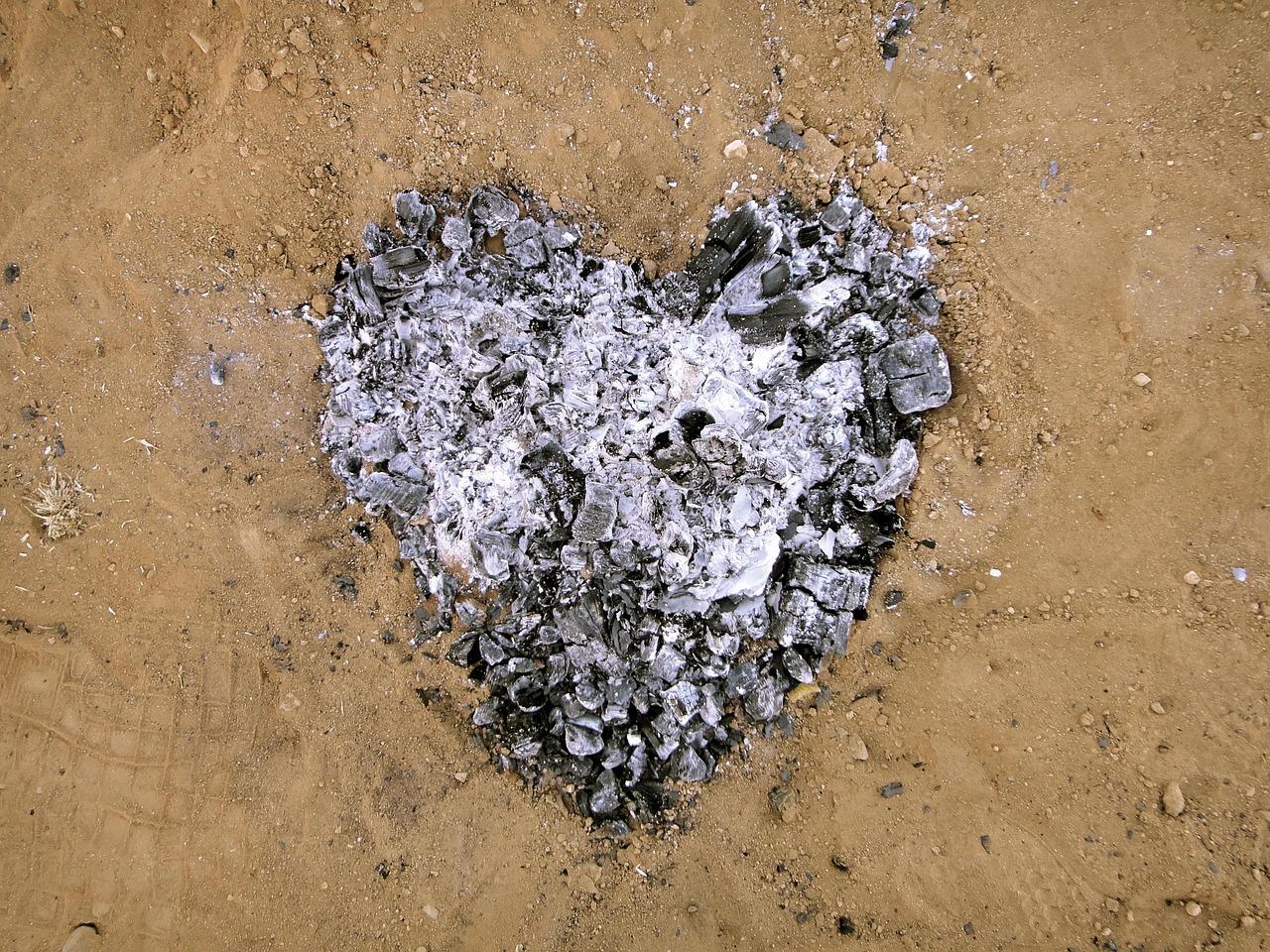 Сердце в пепле фото