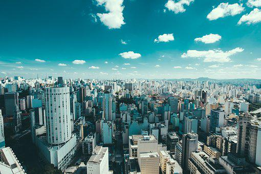 Brazil, Buildings, City, Cityscape