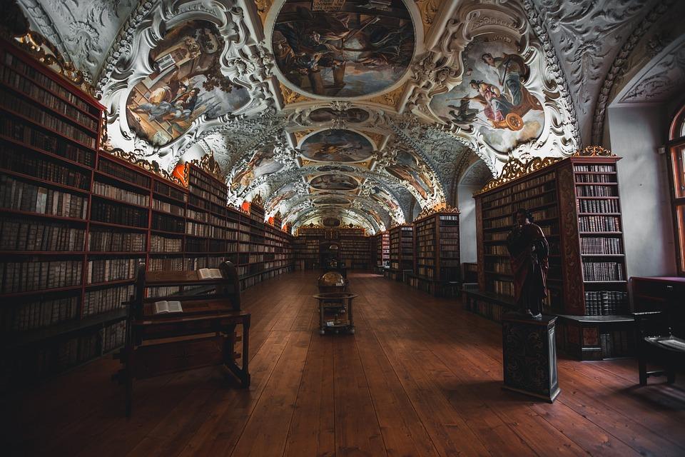 Boeken, Bibliotheek, Schappen