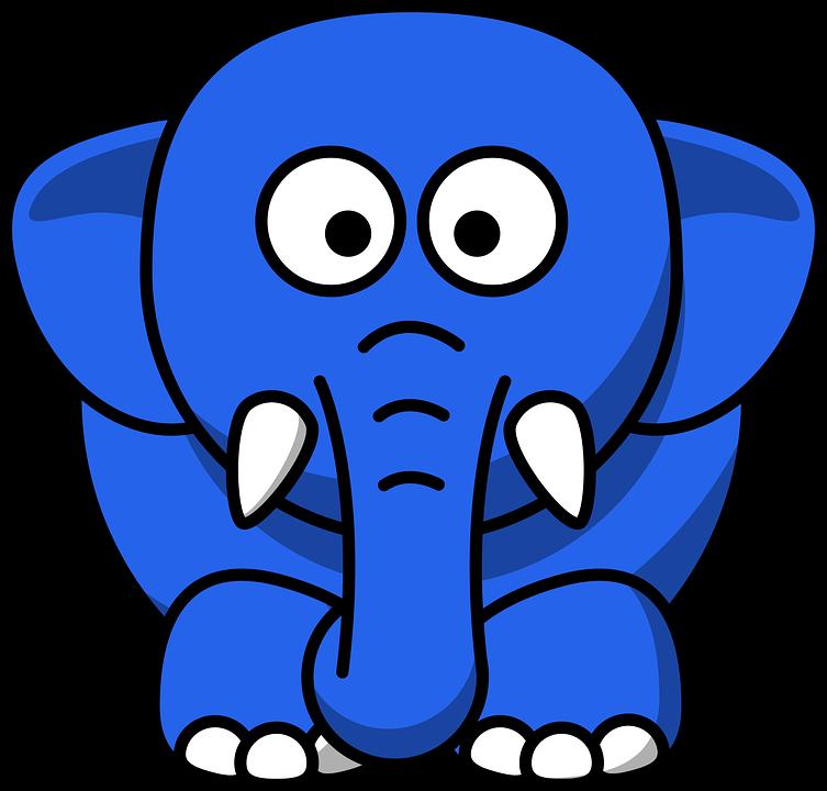 Синие детские рисунки