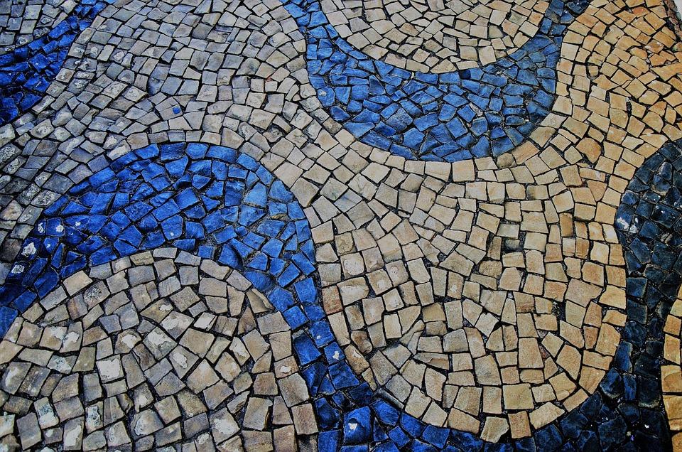 acera piso suelo piedra piedra portuguesa