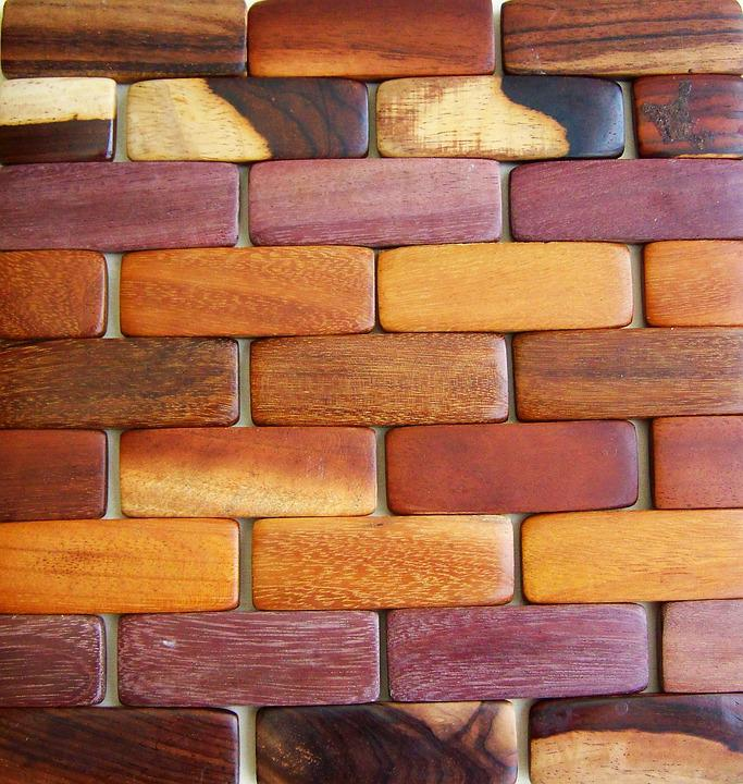 wall bricks wooden bricks wood elements works